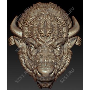 Голова бизон