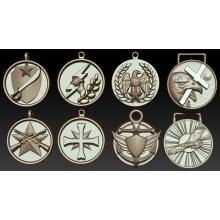 Набор медальонов