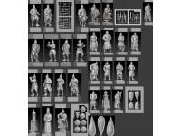 Шахматный набор ЛЕДОВОЕ ПОБОИЩЕ