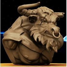 Злой бык