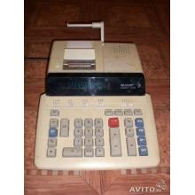 Калькулятор принтер Sharp